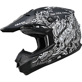 GMAX GM76X Helmet - Conviction - GMAX GM76X Helmet - Street Life