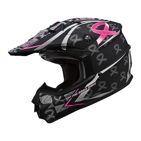 GMAX GM76X Helmet - Pink Ribbon - Main