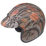 GMAX GM2 Youth Helmet - Camo -  Open Face Motorcycle Helmets