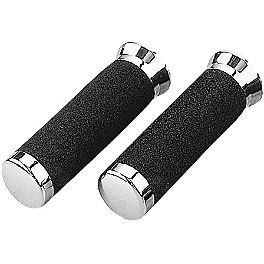 "Grab-On Deluxe Road Grips - 1"" X 6"" - Biker's Choice Tornado Grips"