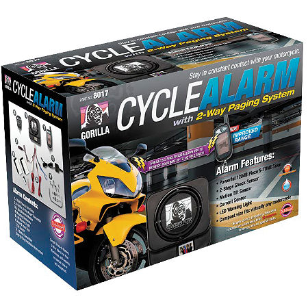 Gorilla Cycle Alarm With 2-Way Paging System - Main