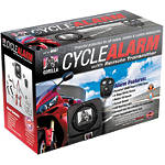 Gorilla Cycle Alarm With 3-Button Remote Transmitter -  Motorcycle Security