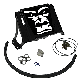 Gorilla Radiator Relocation Kit - 2007 Honda RINCON 680 4X4 Gorilla Silverback Mud Tire - 30x9-14