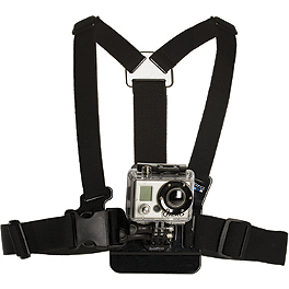 GoPro Chest Mount Harness - Go Pro Flat Adhesive Mounts