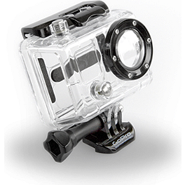 GoPro HD Hero Skeleton Housing - 1980 Honda CR125 Dunlop 125/250F D952 Tire Combo