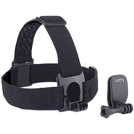 GoPro Head Strap Mount + QuickClip - GoPro Battery BacPac