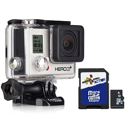 GoPro HERO3+ Silver Edition - GoPro HERO3+ Black Edition