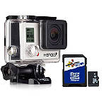 GoPro HERO3+ Silver Edition - GO-PRO-FLAT-CURVED-ADHESIVE-MOUNTS Go Pro Motorcycle