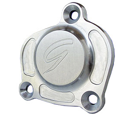Graves Left Side Engine Crankcase Cover - GYTR Billet Left Case Covers With Tuning Fork Logo