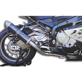 Graves Titanium Full System Exhaust - 2011 BMW S1000RR Bazzaz Z-FI TC Traction Control System