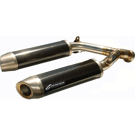Graves Stainless Cat Eliminator Slip-On Exhaust - Main