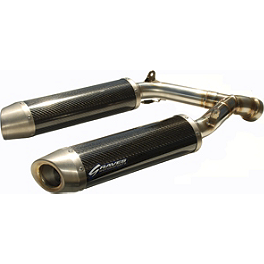 Graves Stainless Cat Eliminator Slip-On Exhaust - Graves Titanium Cat Eliminator Slip-On Exhaust