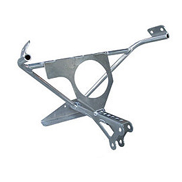 Graves Fairing Bracket - 87mm Tach Mount - 2000 Suzuki GSX-R 750 Graves 7 Degree Clip-Ons - 50mm