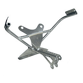 Graves Fairing Bracket - Standard Tach Mount - 2003 Suzuki GSX-R 750 Graves 7 Degree Clip-Ons - 50mm