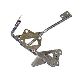 Graves Fairing Bracket - Standard Tach Mount - Woodcraft Left Side Rearset Replacement Peg