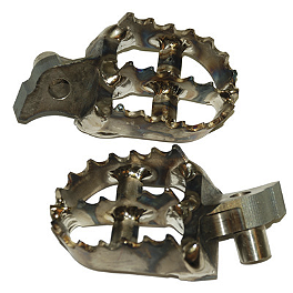 Graves Titanium Footpegs - Graves Footpeg Riser Mounts