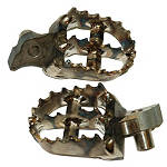 Graves Titanium Footpegs - Dirt Bike Foot Pegs