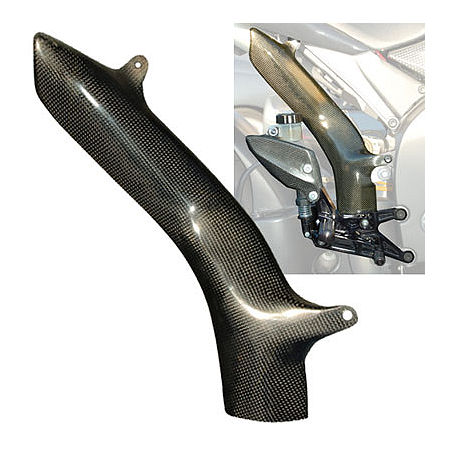 Carbon Fiber Exhaust Heat Shield - Main