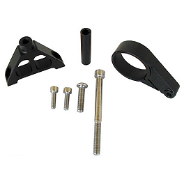 Graves Ohlins Steering Damper Mount - 2004 Yamaha YZF - R6 Graves Steering Damper Clamp Mount