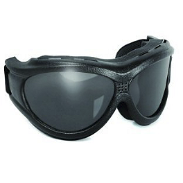 "Global Vision Big Ben ""Over"" Goggles - Smoke - Bobster Phoenix OTG Goggles"