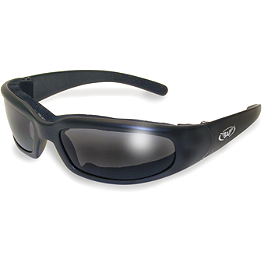 Global Vision Chicago Sunglasses - Yamaha Star Accessories Tear Drop Ball Milled Billet Mirrors - Right