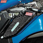 GYTR Lightspeed Carbon Fiber Coolant Bottle Cover - Yamaha GYTR ATV Products