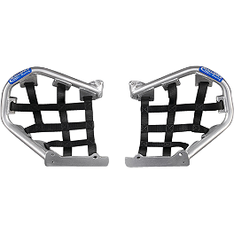 GYTR Ballance Racing Pro Series Heel Guards - 2011 Yamaha YFZ450X GYTR Replacement Footpegs For Nerf Bar/Footwell/Peg Combo