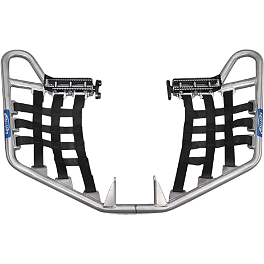 GYTR Ballance Racing Pro Peg Nerf Bars - GYTR Rear Grab Bar - Black