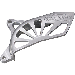 GYTR Ballance Racing Sprocket Cover - 2010 Yamaha YFZ450X GYTR Nerf Bar/Footwell/Peg Combo - Silver