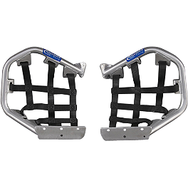 GYTR Ballance Racing Pro Peg Heel Guards - 2006 Yamaha RAPTOR 700 GYTR Sport Front Grab Bar - Silver