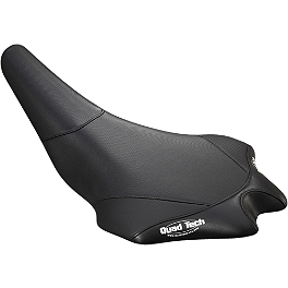 GYTR Quad Tech Seat Cover - Black - One Industries Techno-Grip Seat Cover - Blue