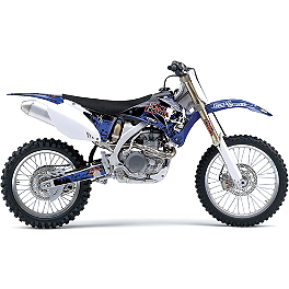 GYTR Factory Effex Metal Mulisha Graphic Kit - 2013 One Industries Checkers Graphic Kit - Yamaha