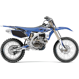 GYTR One Industries Graphic Kit - Blue - Trinity Motosport Graphics - Yamaha