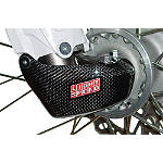 GYTR LightSpeed Carbon Fiber Right Fork Lug Cover - Dirt Bike Fork Guards
