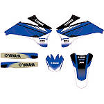 GYTR One Industries AmPro Graphic Kit - Yamaha YZ250F Dirt Bike Graphics