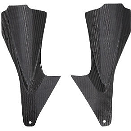 GYTR Carbon Fiber Fairing Accent - GYTR Carbon Fiber Lower Tank Trim