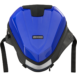 GYTR AXIO Tail Bag - Blue - GYTR AXIO Tank Bag - Carbon Look