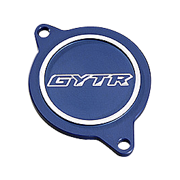 GYTR Billet Cam Cover - GYTR Billet Oversized Footpegs - Blue