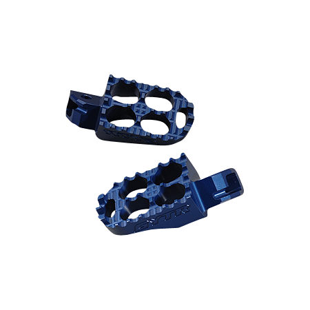 GYTR Billet Oversized Footpegs - Blue - Main