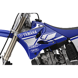GYTR Am-Pro Graphic Kit - 2012 Yamaha YZ125 GYTR LightSpeed Carbon Fiber Rear Caliper Guard