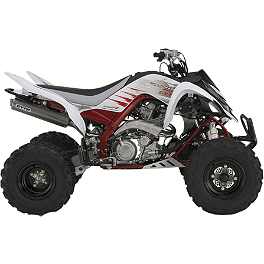 GYTR Drip Graphic Kit - White - 2013 Factory Effex Metal Mulisha ATV Graphics Kit - Yamaha