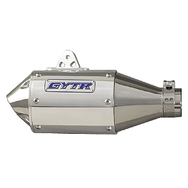 GYTR Aluminum Oval Slip-On Exhaust - Graves Stainless Steel Slip-On Exhaust