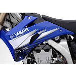 GYTR Race Strobe Graphic Kit - Blue - Yamaha OEM Parts Dirt Bike Products