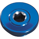 GYTR Oil Fill Cap - Blue - Yamaha GYTR Dirt Bike Products