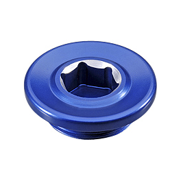 GYTR 27mm Timing Plug - Blue - GYTR Magnetic Oil Drain Plug - Blue