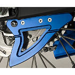 GYTR Billet Rear Disc Guard - Blue - Yamaha GYTR Dirt Bike Parts