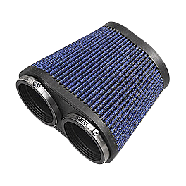GYTR High Flow Air Filter - 2002 Yamaha RAPTOR 660 GYTR Billet Oil Filter Cover