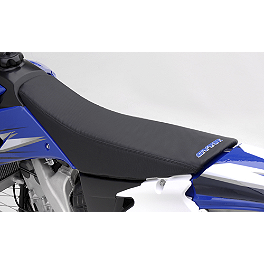 GYTR Gripper Seat Cover - Black - Factory Effex B-4 Gripper Seat Cover - Yamaha