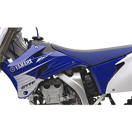 GYTR Flow Graphic Kit - Blue - 2013 One Industries Checkers Graphic - Yamaha