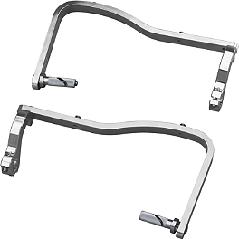 GYTR Woods Style Brush Deflector Mounts - 2007 Yamaha YZ450F GYTR Stainless Steel Exhaust System - 99 dBA